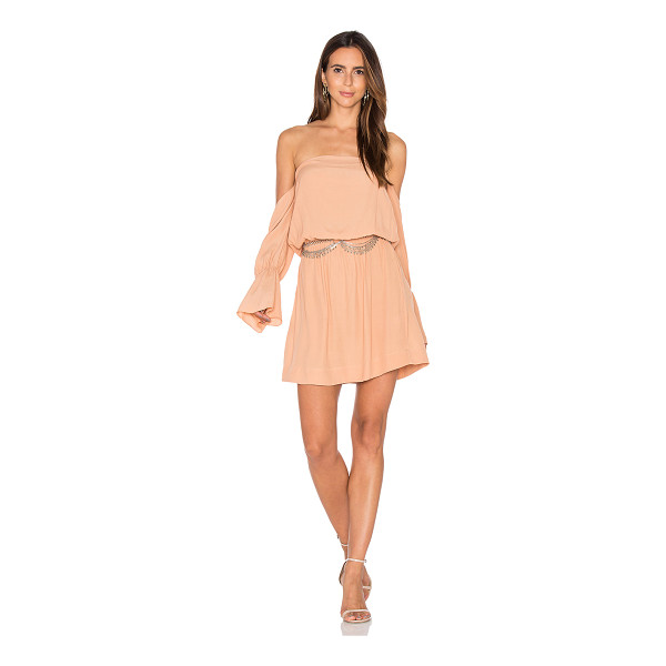 """SWF May Dress - """"100% rayon. Hand wash cold. Unlined. Elastic neckline and..."""