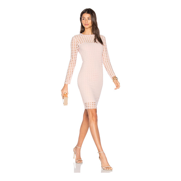 T BY ALEXANDER WANG Circular Hole Long Sleeve Dress - A modern masterpiece. This artful design from T by...