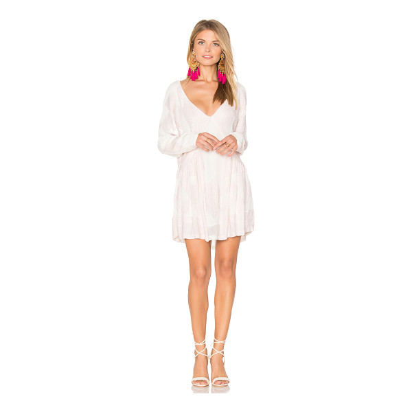 TESSORA Beaded Mini Dress - Self & Lining: 100% viscose. Dry clean only. Fully lined....