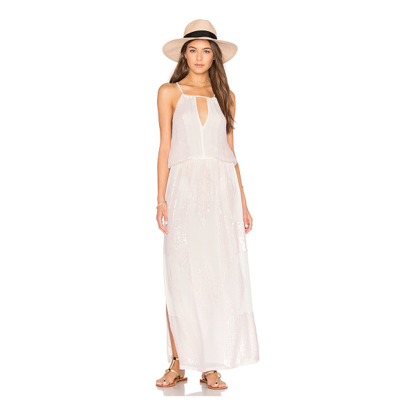TESSORA Keyhole Maxi Dress - Shell & Lining: 100% viscose. Dry clean only. Fully lined.