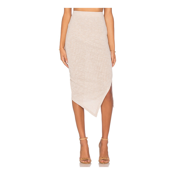 THE FIFTH LABEL Delilah skirt - 65% poly 30% rayon 5% elastan. Hand wash cold. Rib knit...