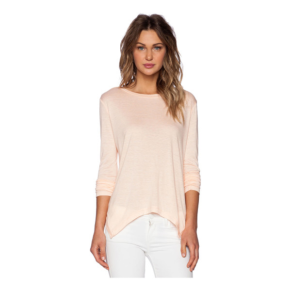 THE FIFTH LABEL Fearless long sleeve top - Cotton blend. Jersey knit fabric. Intentional pilling...