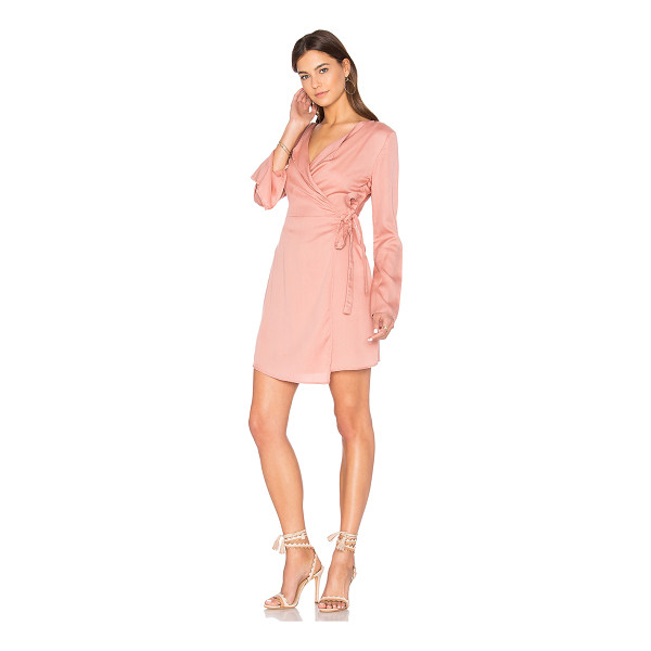 THE FIFTH LABEL Harmony Wrap Dress - 100% tencel. Hand wash cold. Unlined. Wrap front with tie...