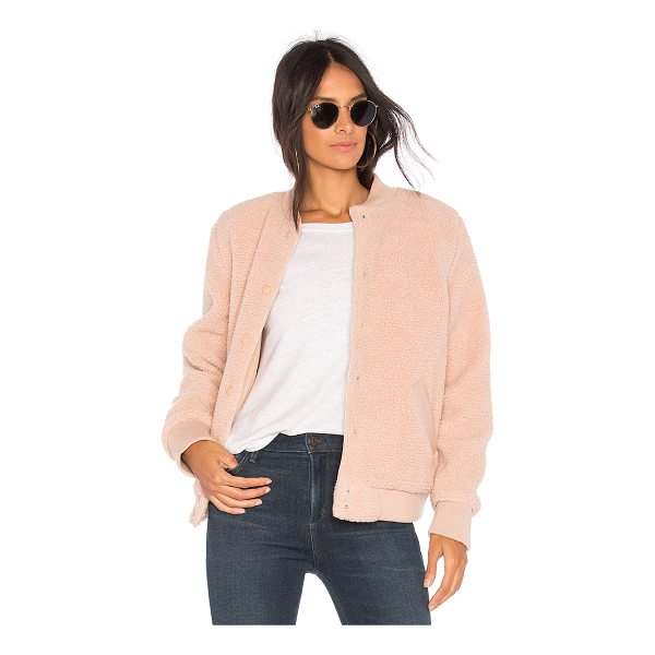 THE FIFTH LABEL Jamie Bomber Jacket - Self: 100% polyLining: 65% poly 35% cottonRib: 94% cotton...