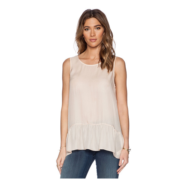 THE GREAT The flounce tank - 100% silk. Dry clean only. GREA-WS5. T001 013 830. The...