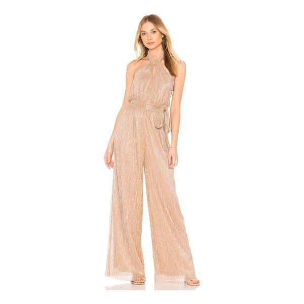 "THE JETSET DIARIES Avalon Jumpsuit - ""Self: 100% polyLining: 96% poly 4% elastane. Dry clean..."