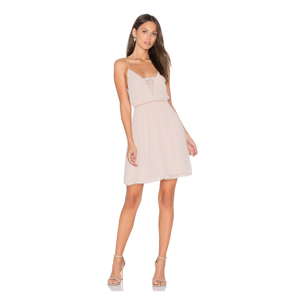 THE JETSET DIARIES Basilica Slip Dress - Main: 100% viscoseLining: 100% rayonContrast: 60% cotton...