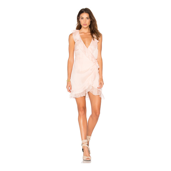 THE JETSET DIARIES Lanza Mini Dress - Self: 100% polyLining: 100% rayon. Hand wash cold. Fully...