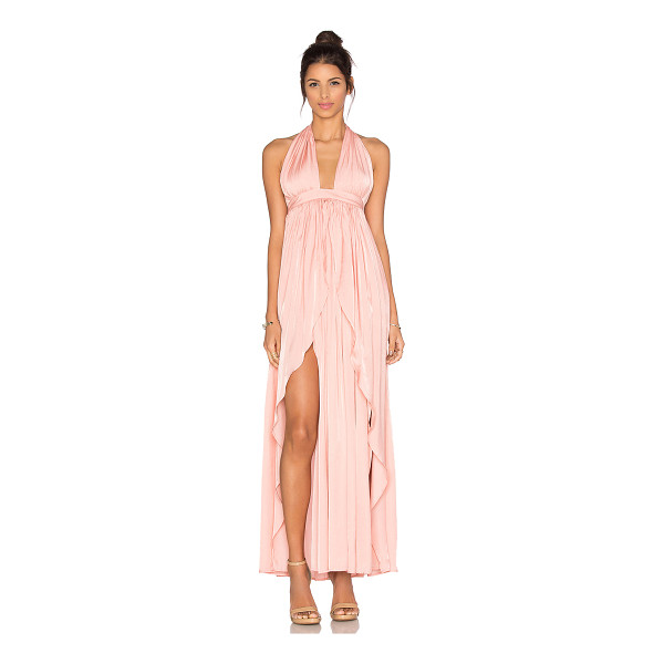 THE JETSET DIARIES Lotus Maxi Dress - Self: 50% poly 50% rayonLining: 100% poly. Hand wash cold....