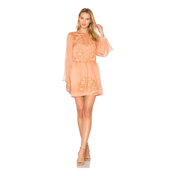 THE JETSET DIARIES Melita Dress - Self: 100% polyLining: 100% rayon. Hand wash. Fully lined....