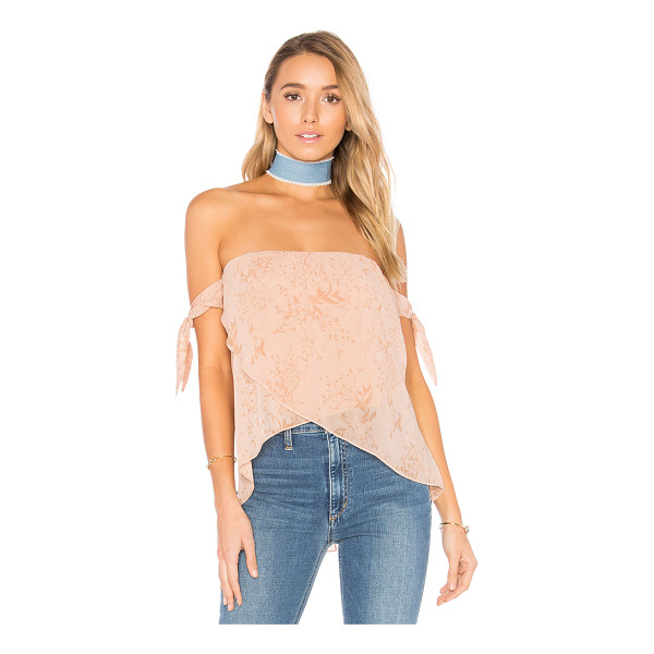 THE JETSET DIARIES Sierra Top - Shell: 100% polyLining: 100% viscose. Unlined. Smocked...