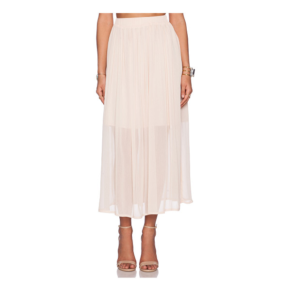 """THE WALLFLOWER Festival skirt - Poly blend. Hand wash cold. Skirt measures approx 36"""""""" in..."""