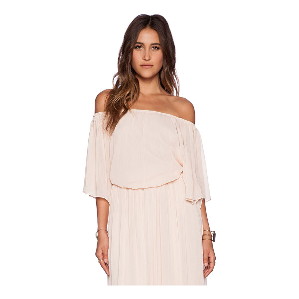 THE WALLFLOWER Festival top - Poly blend. Hand wash cold. Elastic neckline and hem....