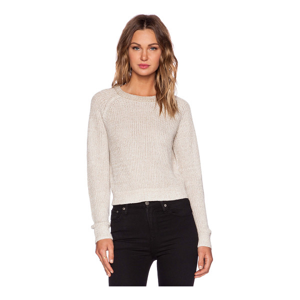 THEORY Brombly b sweater - 99% linen 1% spandex. Dry clean only. THEO-WK124. F0213703....