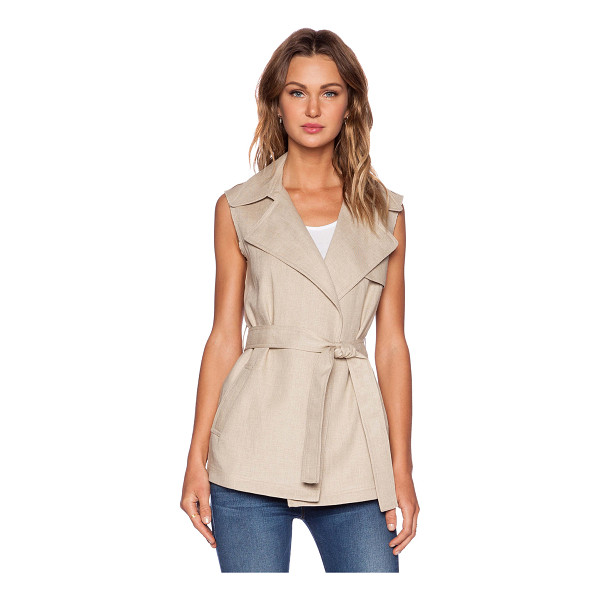 THEORY Katara vest - Shell: 100% linenLining: 100% cotton. Dry clean only....
