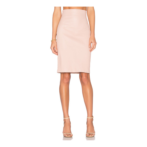 THEPERFEXT Amsterdam Skirt - 100% stretch leather. Clean by leather specialist only....