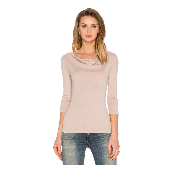 THREE DOTS Nancy cowl neck top - 50% cotton 50% modal. THRR-WS79. AJ4L214. Three Dots is an...