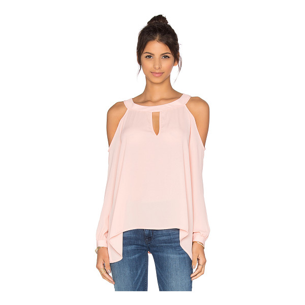 THREE EIGHTY TWO Lucy cold shoulder top - 100% poly. Shoulder cut-outs. Front keyhole detail....