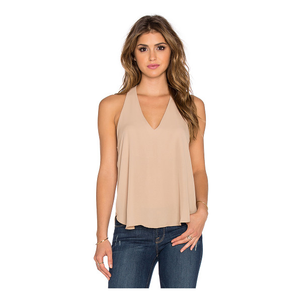 THREE EIGHTY TWO Owen v racerback tank - 100% poly. Racerback. Partially lined. TEIG-WS49. TR 036....