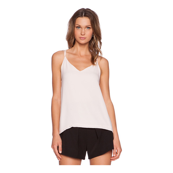 THREE OF SOMETHING Shortcut tank - 100% poly. Back cut-out. THOF-WS19. MAR15T2087. The...