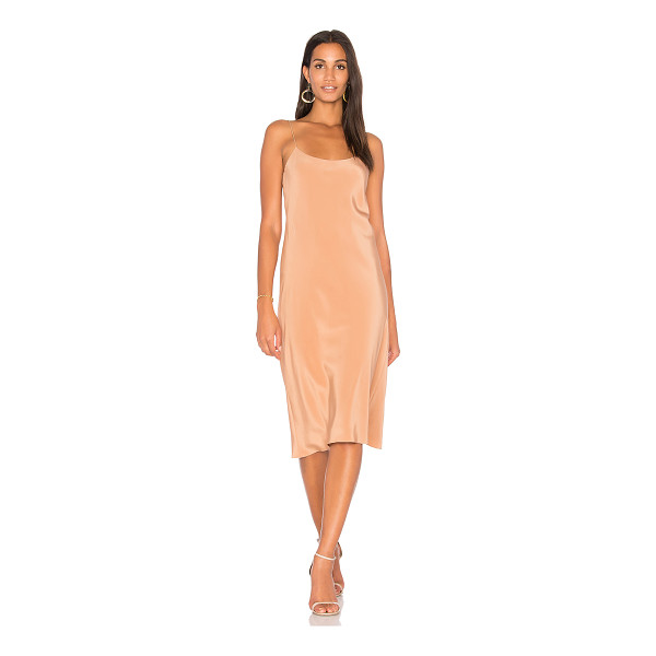 TIBI Bias Dress - Self & Lining: 100% silk. Dry clean only. Fully lined....