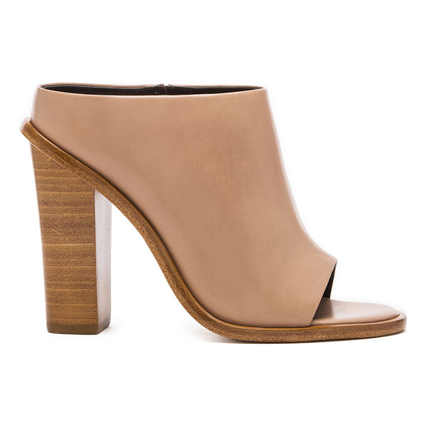 """TIBI Leona heel - Leather upper with leather sole. Heel measures approx 4""""""""..."""