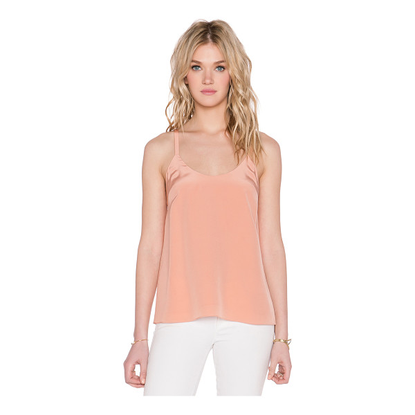 TIBI Tie back cami - Self & Lining: 100% silk. Dry clean only. Back bow detail....