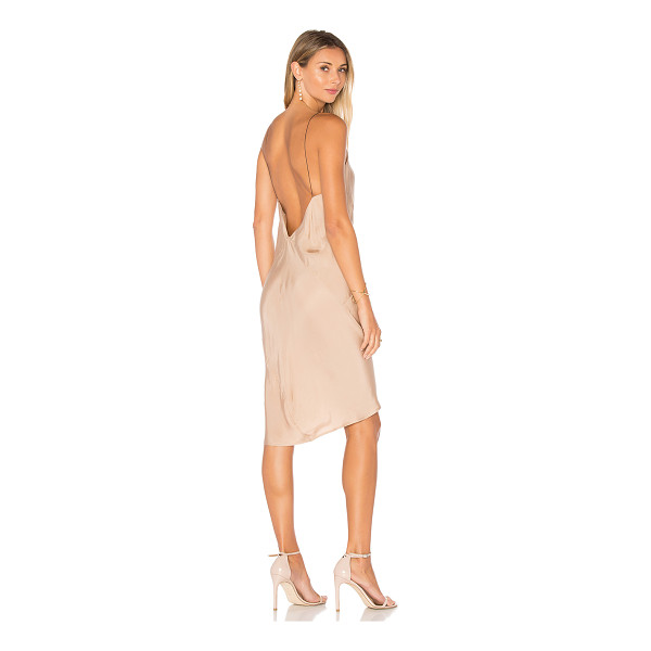 TITANIA INGLIS Ravine Slip Dress - 100% cupro. Dry clean recommended. Unlined. TITR-WD14....