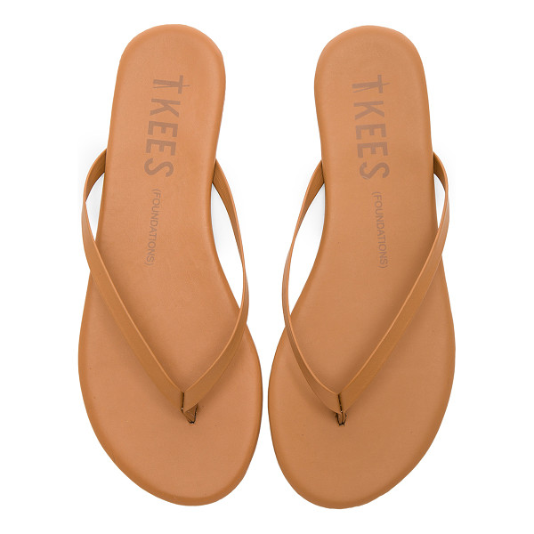 TKEES Foundations Flip Flops - Leather upper with rubber sole. TKEE-WZ49. FOUN. For Jesse...