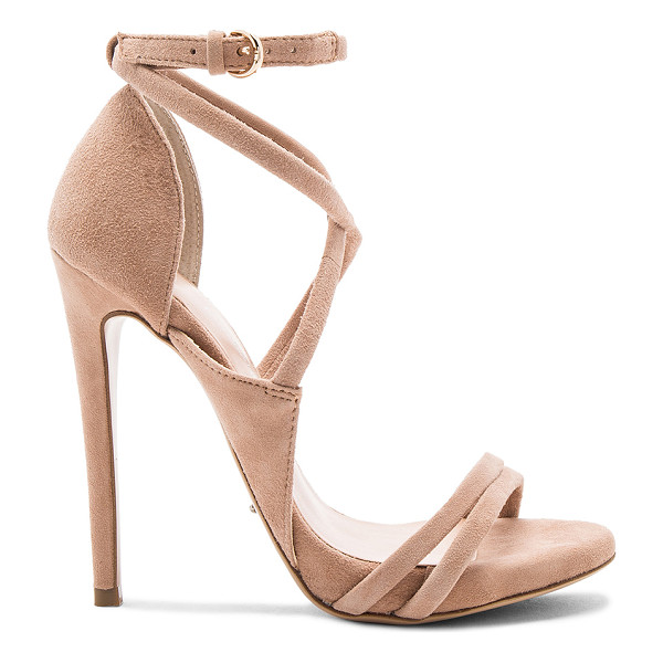 TONY BIANCO Alita Heel - Suede upper with man made sole. Wrap ankle with buckle