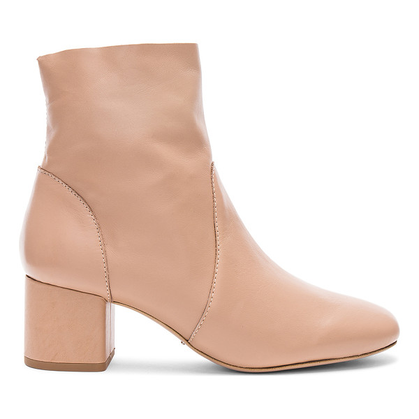 """TONY BIANCO Aurora Bootie - """"Leather upper with man made sole. Side zip closure. Heel..."""