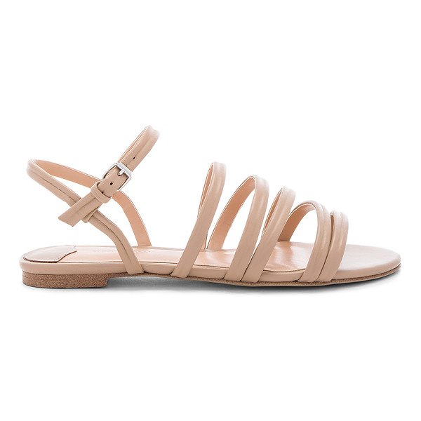 TONY BIANCO Harley Sandal - Leather upper with man made sole. Ankle strap with buckle...