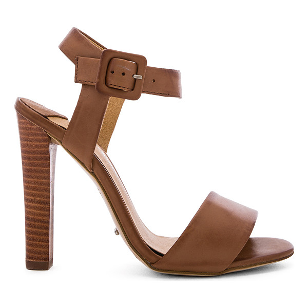 TONY BIANCO Kapri Heel - Leather upper with man made sole. Ankle strap with buckle...