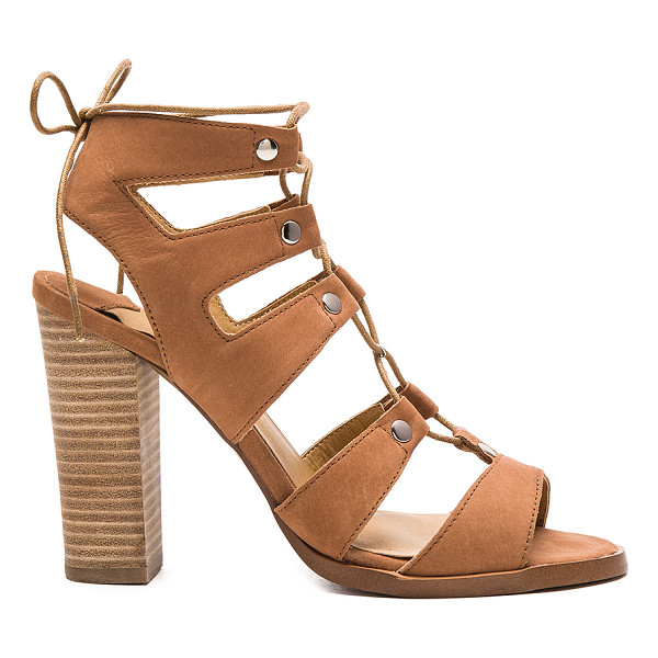 TONY BIANCO Kelso heel - Leather upper with man made sole. Lace-up front with tie...