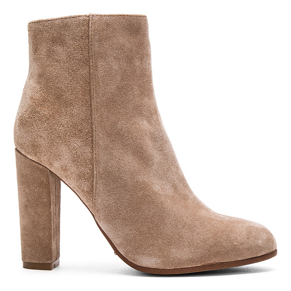 TONY BIANCO Tia Bootie - Suede upper with man made sole. Side zip closure. Heel...