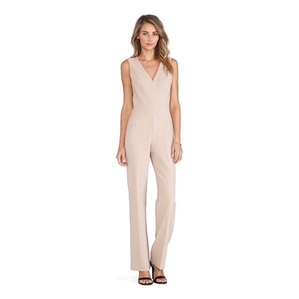 "TRINA TURK Gianetta jumpsuit - Self: 63"""" poly 27% viscose 7% cotton 3% elastaneLining:..."