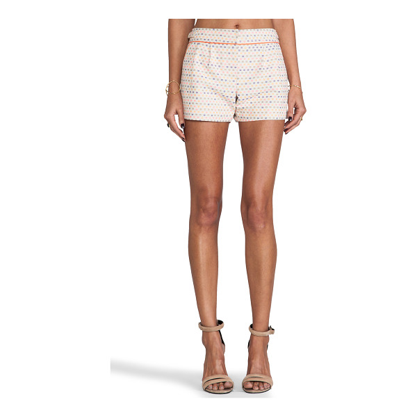 """TRINA TURK Maureen shorts - Cotton blend. Shorts measure approx 11"""""""" in length. Colored..."""