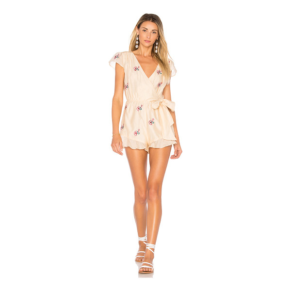 "TULAROSA Ashby Romper - ""Charm and confidence lingers with you in the Ashby Romper...."