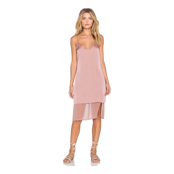 TULAROSA Beckett slip dress - Poly blend. Dry clean only. Neckline to hem measures approx...