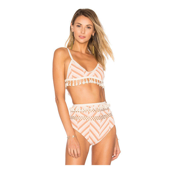 TULAROSA Elias Top - Taking a cue from the iconic 50's beach party days - the...