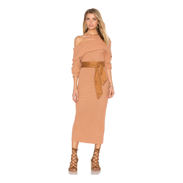 TULAROSA Pia Knit Dress - Keeping cozy while showing some skin. The Tularosa Pia Knit...