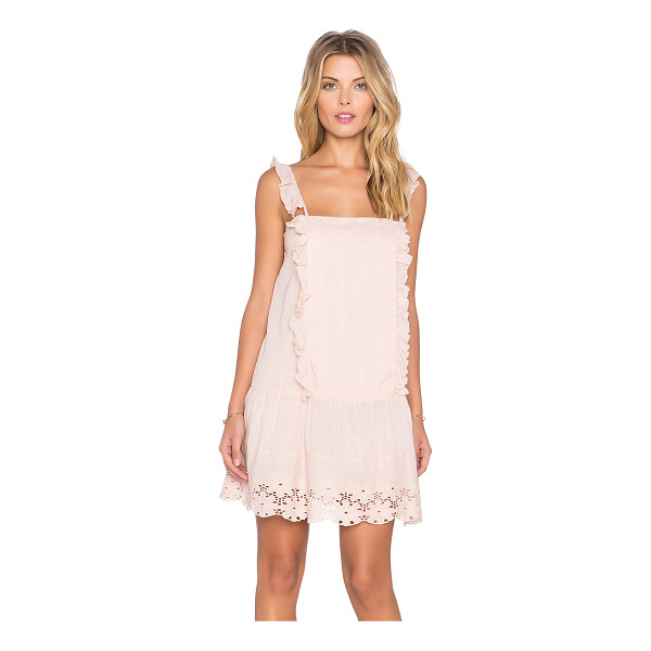 TULAROSA X revolve annabel ruffle dress - Cotton blend. Hand wash cold. Fully lined. Ruffle accents....