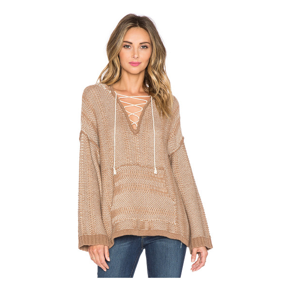 TWELFTH ST. BY CYNTHIA VINCENT Oversize baja hoodie - 35% viscose 29% lambs wool 20% nylon 8% angora 8% cashmere....