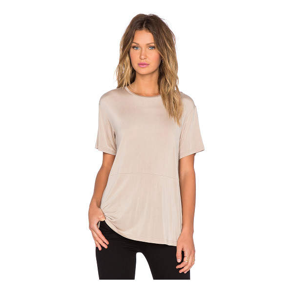 TY-LR The base tee - 94% curpo 6% spandex. Hand wash cold. TYLR-WS11. WX1508431T.