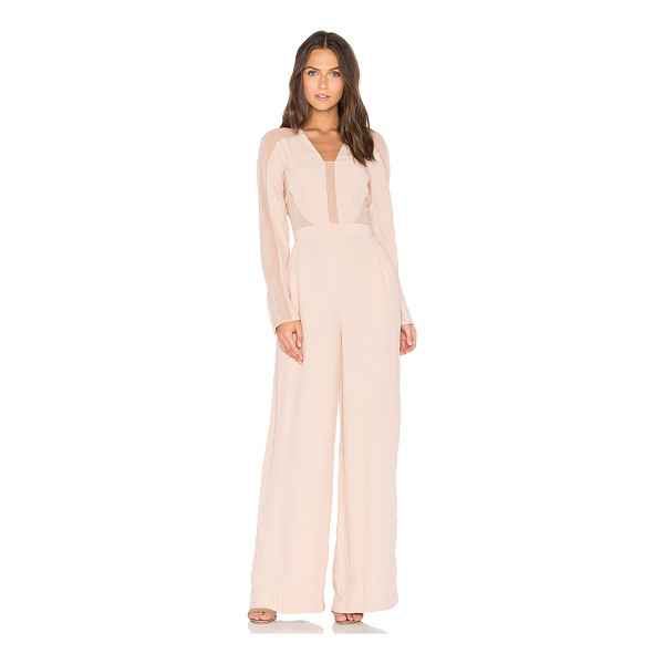 TY-LR The Catherine Jumpsuit - Self: 100% viscoseCombo: 100% polyLining: 97% poly 3%...