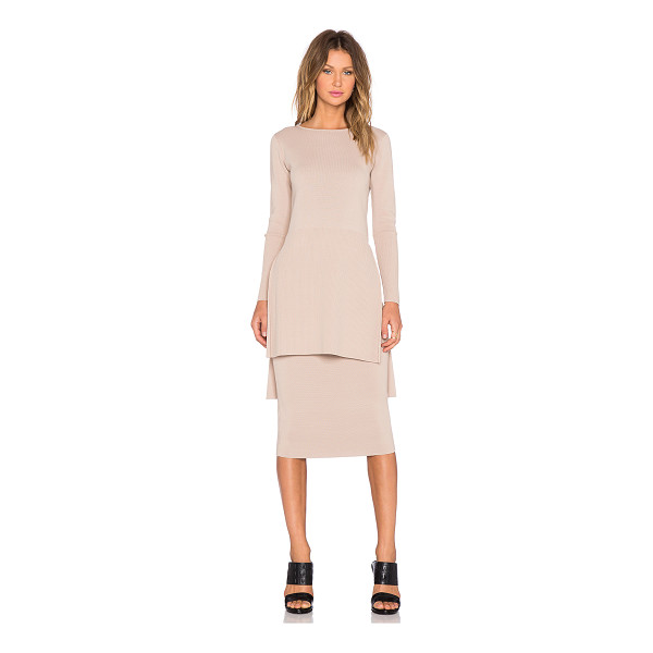 TY-LR The mirage knit tunic - 68% viscose 32% polyamide. Hand wash cold. Elastic stretch...
