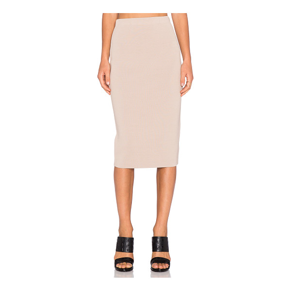 TY-LR The Sandblaster Knit Skirt - 68% viscose 32% polyamide. Hand wash cold. Skirt measures...