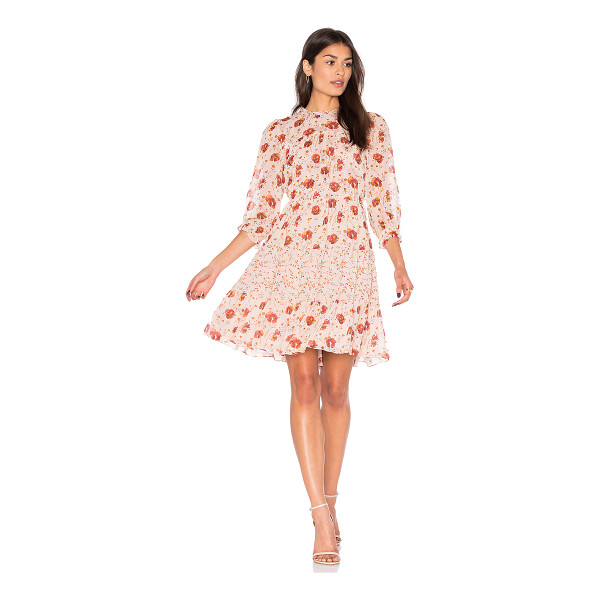 ULLA JOHNSON Skye Dress - Usher in fall with the unexpected: pastel pink. Adorn...