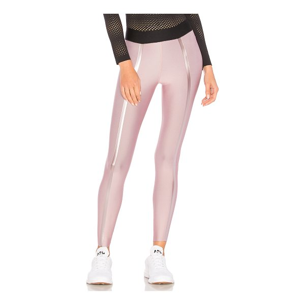 ULTRACOR Trail Print Legging - Self: 43% poly 43% nylon 14% lycraLining: 65% nylon 35%...