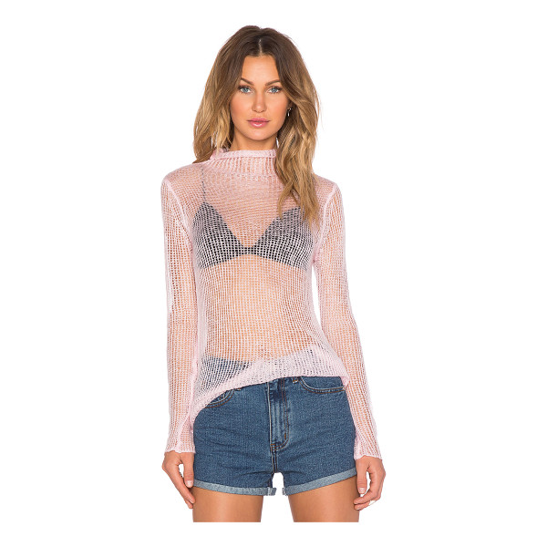 UNIF Haze sweater - 100% acrylic. Dry clean only. Loose knit fabric. UNIX-WK64....